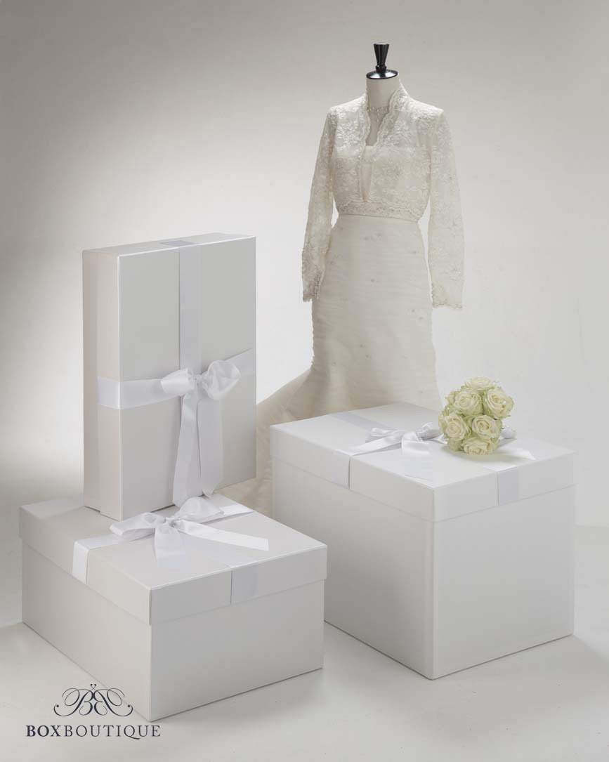 Box Boutique: Brautkleidboxen - Größenratgeber