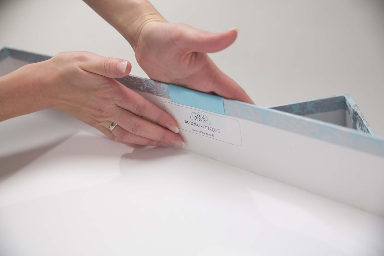 Box Boutique: Brautkleidboxen - Über die Box