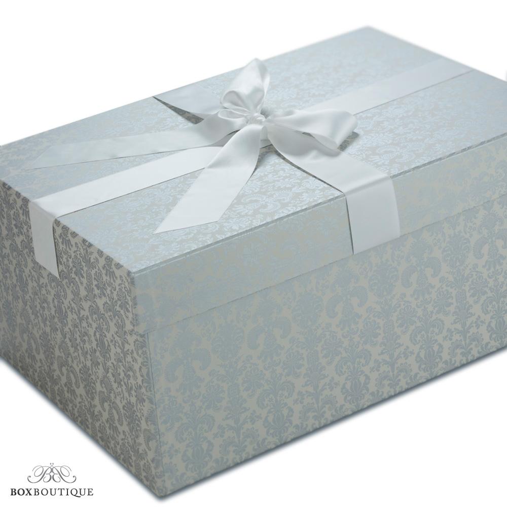 Box Boutique: Brautkleidboxen - Brautkleidbox Tapestry Silver